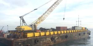 RESOLVE Gibraltar, SteelMac, Dumb Barge, Spain